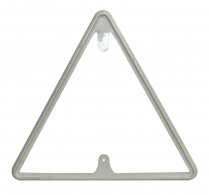 Decorative Traffic Yield Sign frame 30 inch Front
