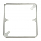 Decorative Sign Square Frame 24 inch Front