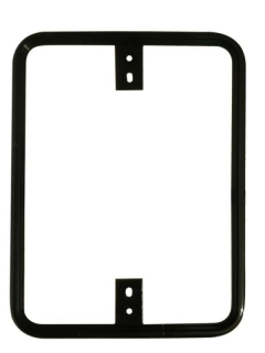 Decorative Traffic Rectangular Sign Frame 18X24 Frame Powder coated