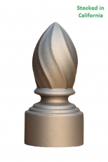 Flame Finials, Permanent Mold