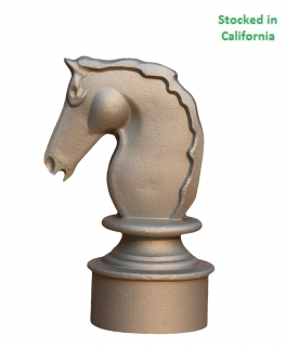 Horse Head Finials, Permanent Mold
